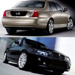 Rover 75 V8 and MGZT260